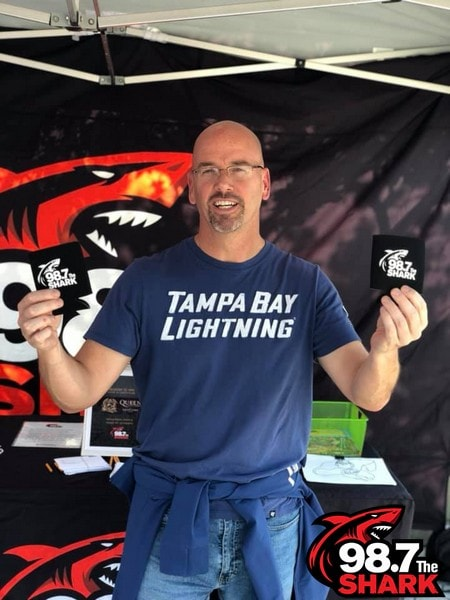 The Shark had a blast at theTampa Bay Lightning vs. Columbus Blue Jackets hockey game. Thank you to everyone that showed up to support the team and win prizes! Go Bolts!