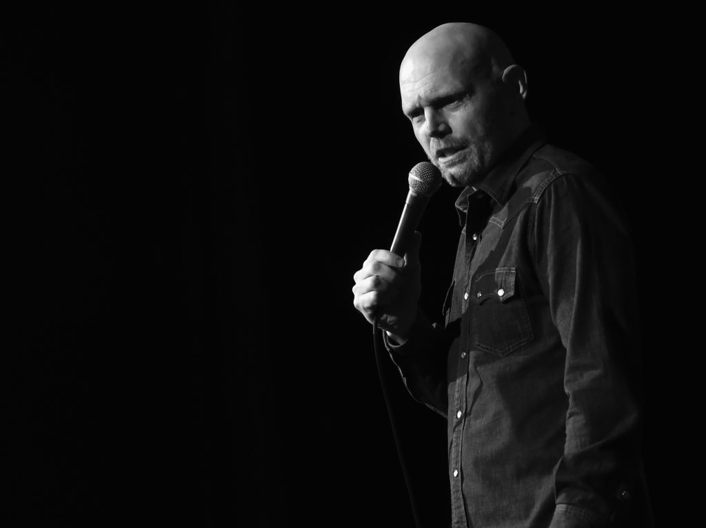Comedian Bill Burr Loses Mind at Iron Maiden Concert
